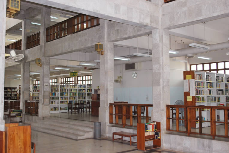 Inside View Main Library